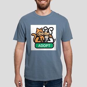 adopt Mens Comfort Colors Shirt