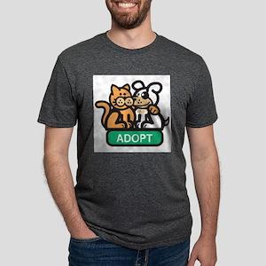 adopt Mens Tri-blend T-Shirt
