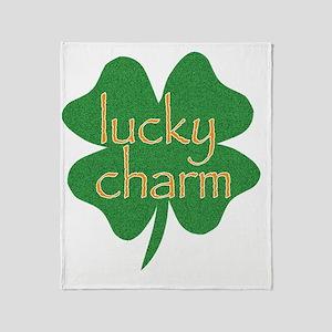 lucky charm Throw Blanket