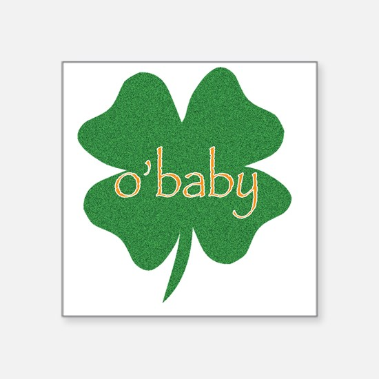 "obaby Square Sticker 3"" x 3"""
