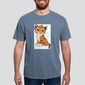 baby tiger cub Mens Comfort Colors Shirt