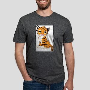 baby tiger cub Mens Tri-blend T-Shirt