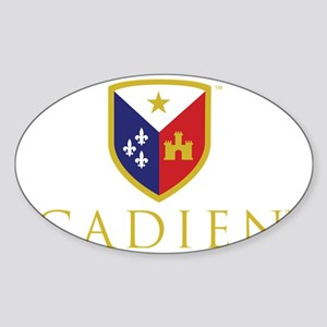 Cadien Logo No Tag Sticker (Oval)