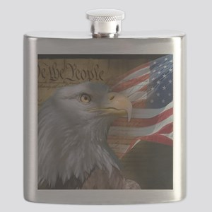 We_the_People_11.5x9 Flask