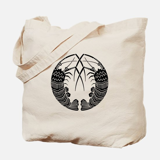 Facing spiny lobsters Tote Bag