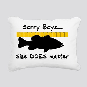 sorry boys Rectangular Canvas Pillow