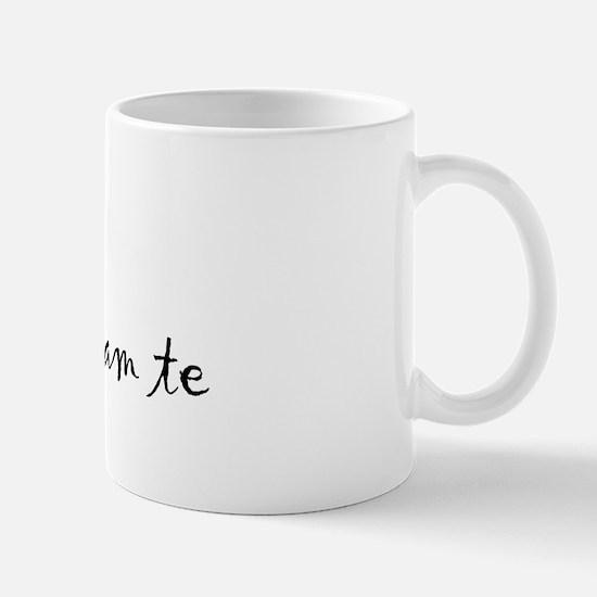 """I Love You"" [Bulgarian] Mug"