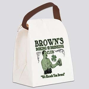 browns club Canvas Lunch Bag