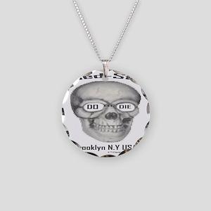 200largeskelton_head__nobgb Necklace Circle Charm