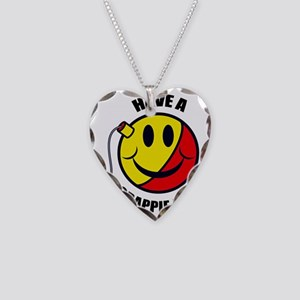 FIN-have-crappie-day Necklace Heart Charm