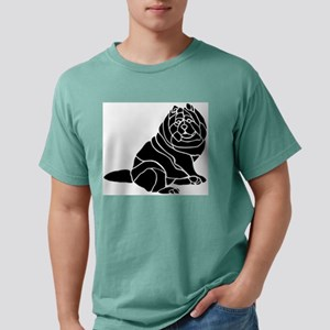 Chow Chow Mens Comfort Colors Shirt