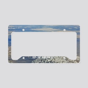 vq1 large poster License Plate Holder