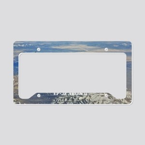 vq1 postcard License Plate Holder