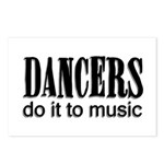 Dancers do it to Music Postcards (Package of 8)