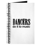 Dancers do it to Music Journal