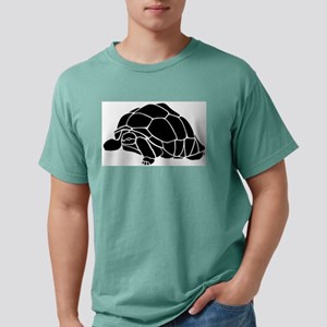 Tortoise silhouette Mens Comfort Colors Shirt