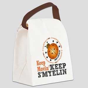 10x10_MSsmile4 Canvas Lunch Bag