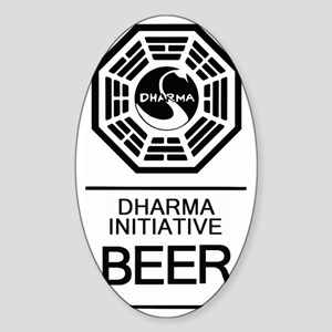 Dharma Beer Sticker (Oval)