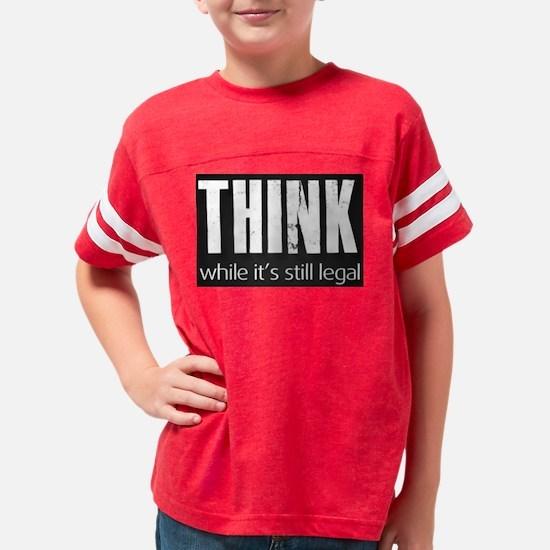 THINK sign Youth Football Shirt