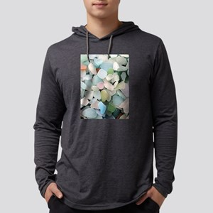 Sea glass Mens Hooded Shirt