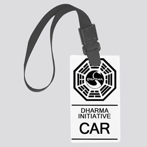 Dharma Car Large Luggage Tag