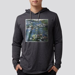 Waterlilies Mens Hooded Shirt