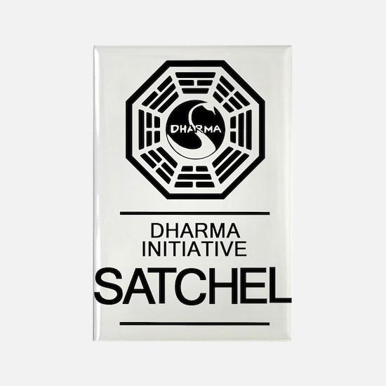 Dharma Satchel Rectangle Magnet
