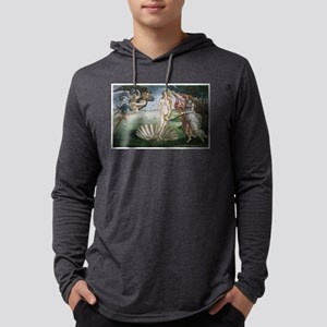 The Birth of Venus Mens Hooded Shirt