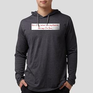Psychiatrist Mens Hooded Shirt