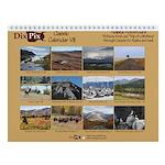 Dixpix Classic 8 Alaska/canada Trip Wall Calendar
