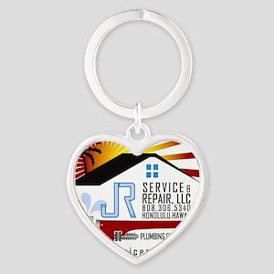 JR_ServiceRepair_TSHIRT6 Heart Keychain