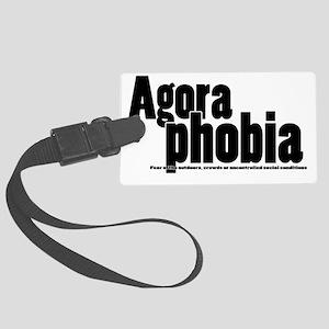 Agoraphobia Large Luggage Tag