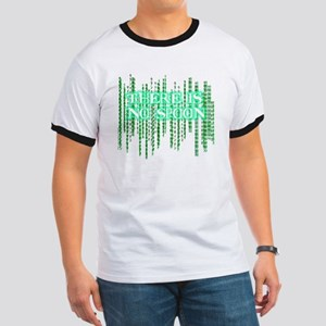 Matrix shirt - There Is No Spoon Ringer T