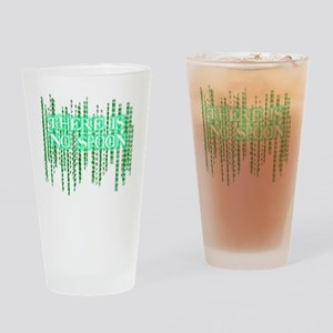 Matrix shirt - There Is No Spoon Drinking Glass
