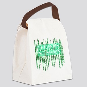 Matrix shirt - There Is No Spoon Canvas Lunch Bag