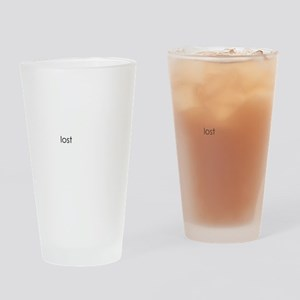 Lost Eternal OOPS for Black Drinking Glass