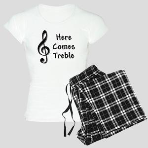 Treble-Black Women's Light Pajamas