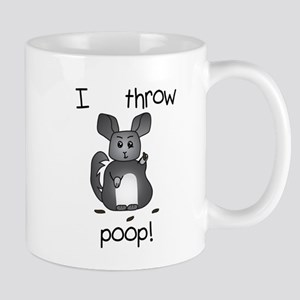 I Throw Poop Mugs