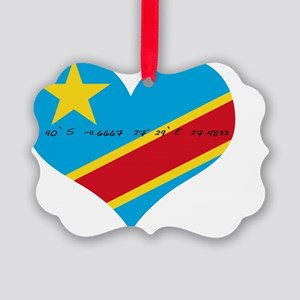 drc lubumbashi Picture Ornament