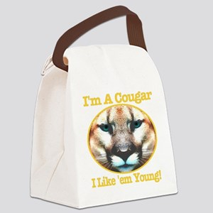 imacougar_ilikeemyoung_trasparent Canvas Lunch Bag