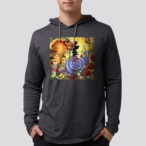 Butterfly Fairy Mens Hooded Shirt