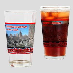 300XLG_WHITEBG_brownsville Drinking Glass