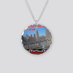 300XLG_WHITEBG_brownsville Necklace Circle Charm