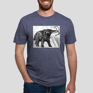 Woolly mammoth Mens Tri-blend T-Shirt