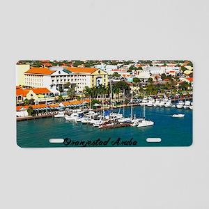 Oranjestad Marina Aruba Aluminum License Plate