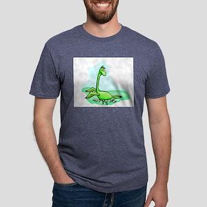 Dino the dinosaur Mens Tri-blend T-Shirt
