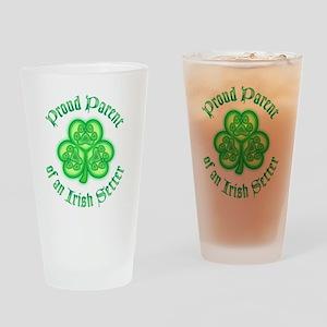 Irish Setter Parent Drinking Glass
