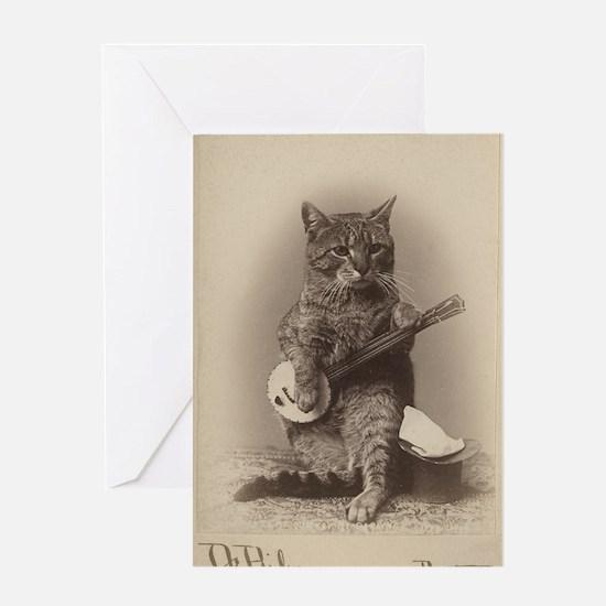 Cat_tee Greeting Card