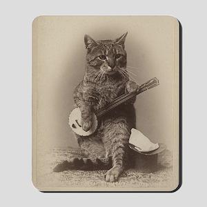 Cat_tee Mousepad
