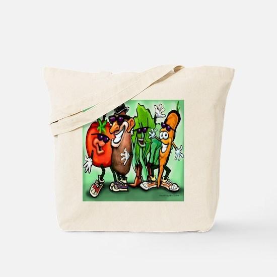 Veggie Gang SQ Tote Bag